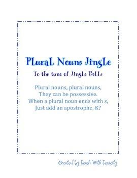 Plural Nouns Jingle