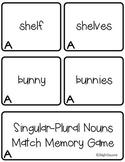Plural Nouns Memory Set A