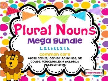 Plural Nouns Mega Bundle