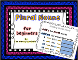Plural Nouns PPT and Printables