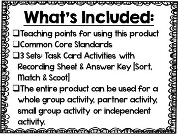 Plural Nouns Pizazz Task Card Pack {CCSS Aligned}