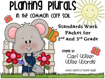 Plural Nouns:  Planting Plurals in the Common Core Soil!