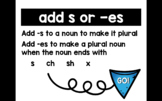 Plural Nouns Practice :: add -s or -es Interactive PDF