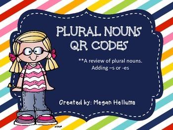 Plural Nouns QR Codes