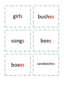 Plural Nouns Quiz-Quiz-Trade