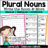 Plural Nouns Write the Room and More