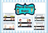Plural Nouns Rules Posters