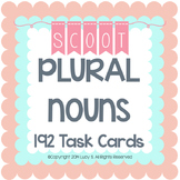 Plural Nouns Task Cards SCOOT Plural Nouns Activity