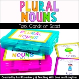 Plural Noun Scoot or Task Cards