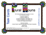 Plural Nouns Task Cards or Scoot Game