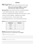 Nouns: Plural Nouns Worksheet and Key