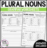 Plural Nouns Worksheets - No Prep Printables