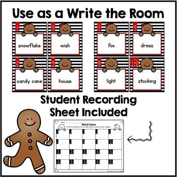 Plural Nouns Write the Room & Sort {-s / - es}