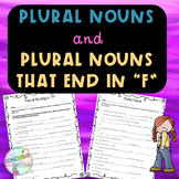 "No-Prep Plural Nouns and Plural Nouns ending in ""F"""