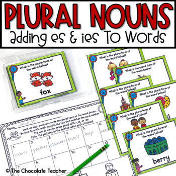 Plural Nouns -es -ies
