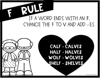 Plural Nouns for Valentines