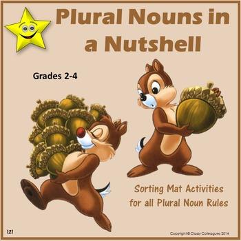 Noun Plural Sorting Mats