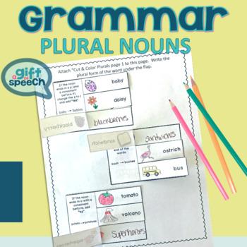 Irregular plural nouns & regular plurals Teach, Practice, & Learn Speech Therapy
