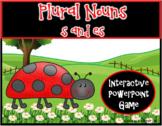 Plural Nouns -s & -es PPT Game