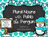 Plural Nouns with Pablo the Penguin! Mini Book Fun!