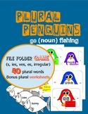 Plural Penguin {noun} Fishing