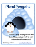 Plural Penguins ~ Small Group activity cards