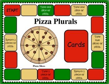 Plural Pizza Activity