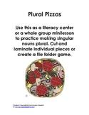 Plural Pizzas