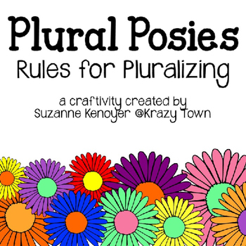 Plural Rules Craftivity