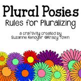 Plural Rules Craftivity
