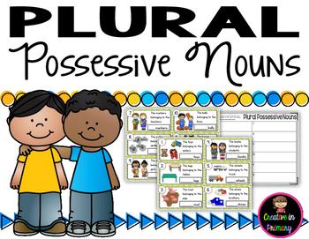 Plural Possessive Noun Task Cards