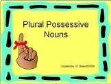 Plural Possessive Nouns Power Point Presentation