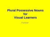 Plural Possessive Nouns for Visual Learners