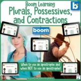 Plurals  Possessives  and Contractions  BOOM Cards