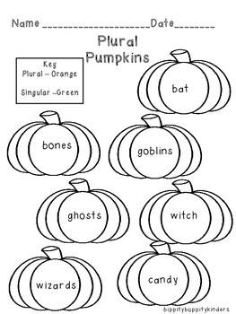 Plural Pumpkin Halloween Free