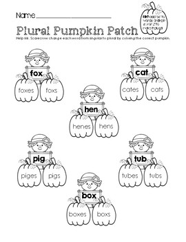 Plural Pumpkin Patch