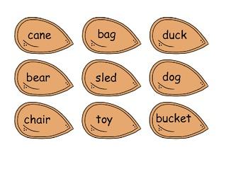 Plural Pumpkin Word Sorts