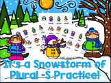 Plural S Practice with CVC, CVCe, and CVCC words