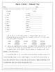 Plural Words Common Core (L.3.1b) Assessment- FREEBIE!