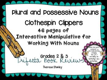Plural and Possessive Nouns Clothespin Clippers Activities