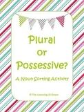 Plural and Possessive Nouns Sort