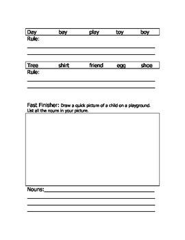 Plural and Proper Noun Worksheet (CCSS Aligned)