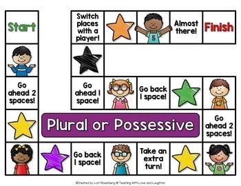 Plural or Possessive Game