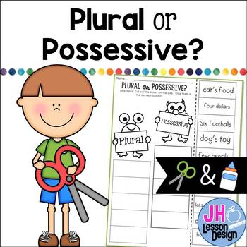 Plural or Possessive? Cut and Paste Sorting Activity