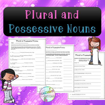 No-Prep Plural or Possessive Nouns