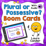 Plural or Possessive Nouns Boom Cards (with Audio Read-alo