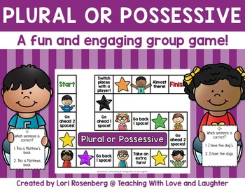 Plural or Possessive Game