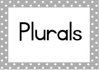 Plural rule posters