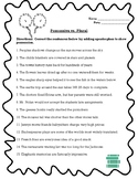 Plural vs Possessive Apostrophe Worksheet