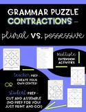 Plural vs. Possessive - Grammar Puzzle